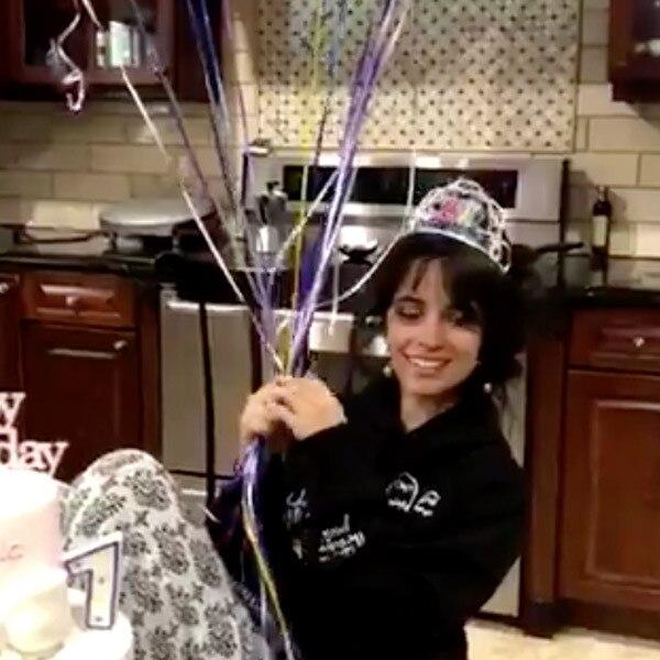 Watch Camila Cabellos 21st Birthday Celebration On E News E News