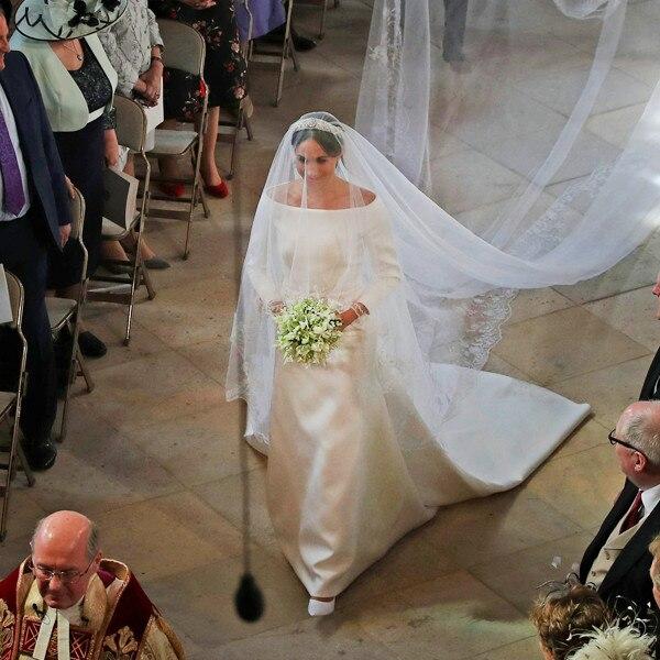 4 Classic Celeb Wedding Dresses Similar To Meghan Markle's