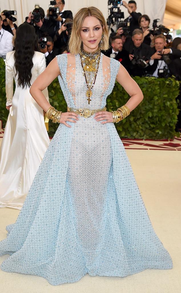 Katharine McPhee, 2018 Met Gala, Red Carpet Fashions