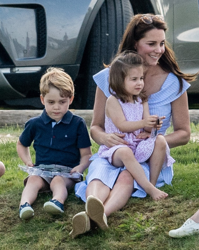 Kate Middleton, Prince George, princesse Charlotte