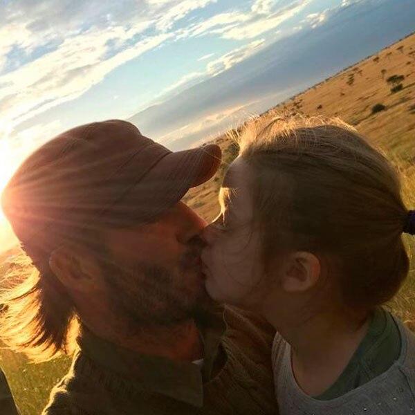 David Beckham, Harper, Father, Daughter