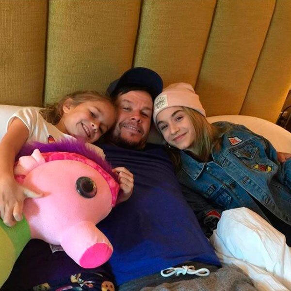 Mark Wahlberg, Ella, Grace, Father, Daughter