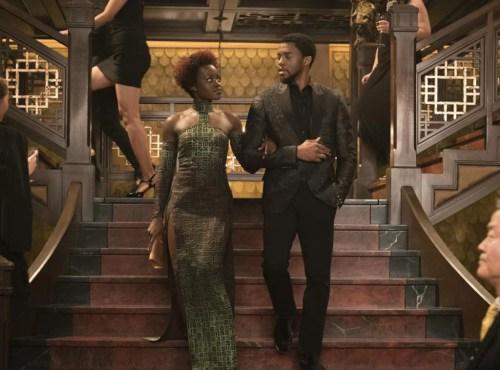 Chadwick Boseman, Lupita Nyong'o, Black Panther
