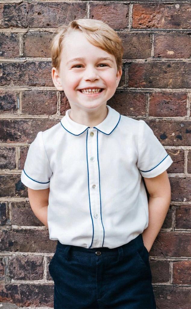 Prince George, 5ème anniversaire