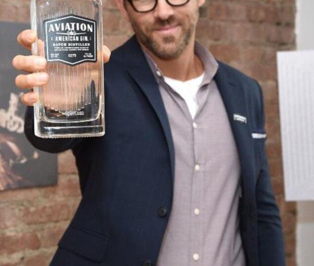Ryan Reynolds Aviation Gin Event