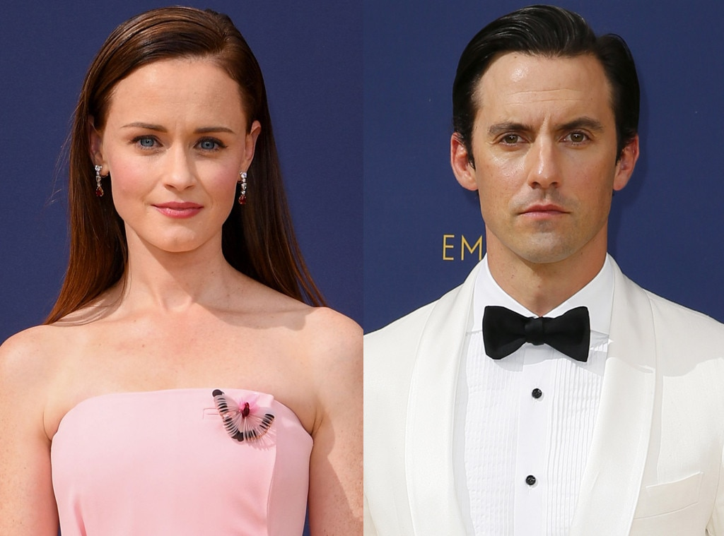 Milo Ventimiglia, Alexis Bledel, 2018 Emmy Awards, 2018 Emmys, Reunions