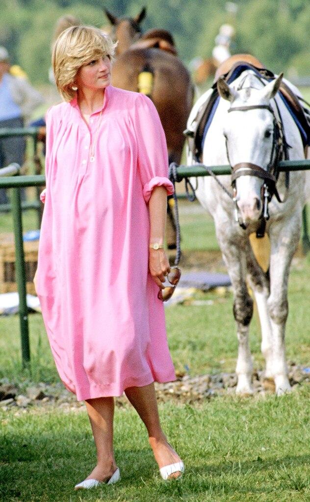 Princess Diana, Pregnant, June 1982