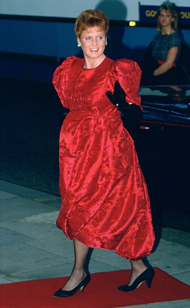 Duchess Sarah Ferguson, Pregnant