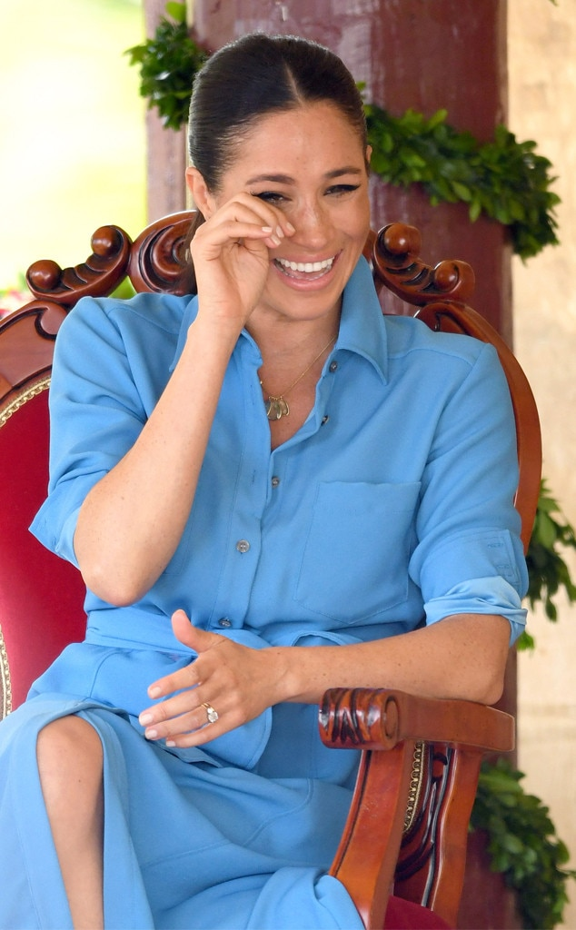 Meghan Markle, Laughing