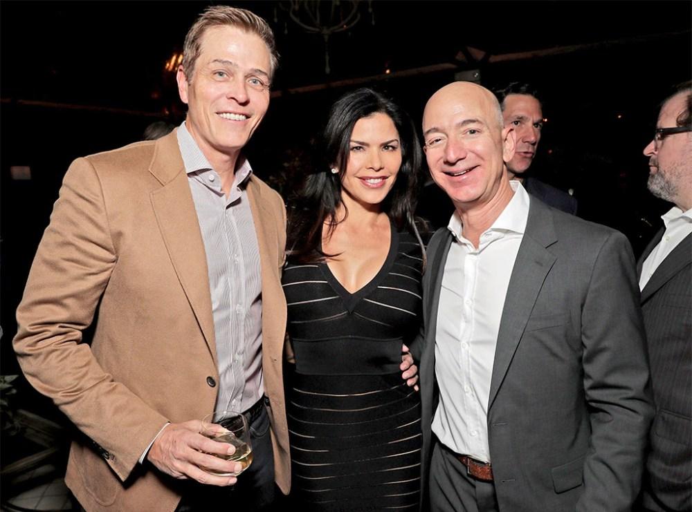 Patrick Whitesell, Jeff Bezos, Lauren Sanchez