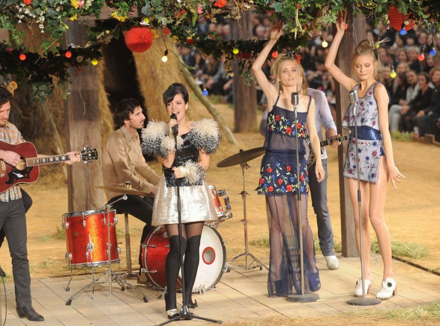 Lily Allen, Chanel Fashion Show