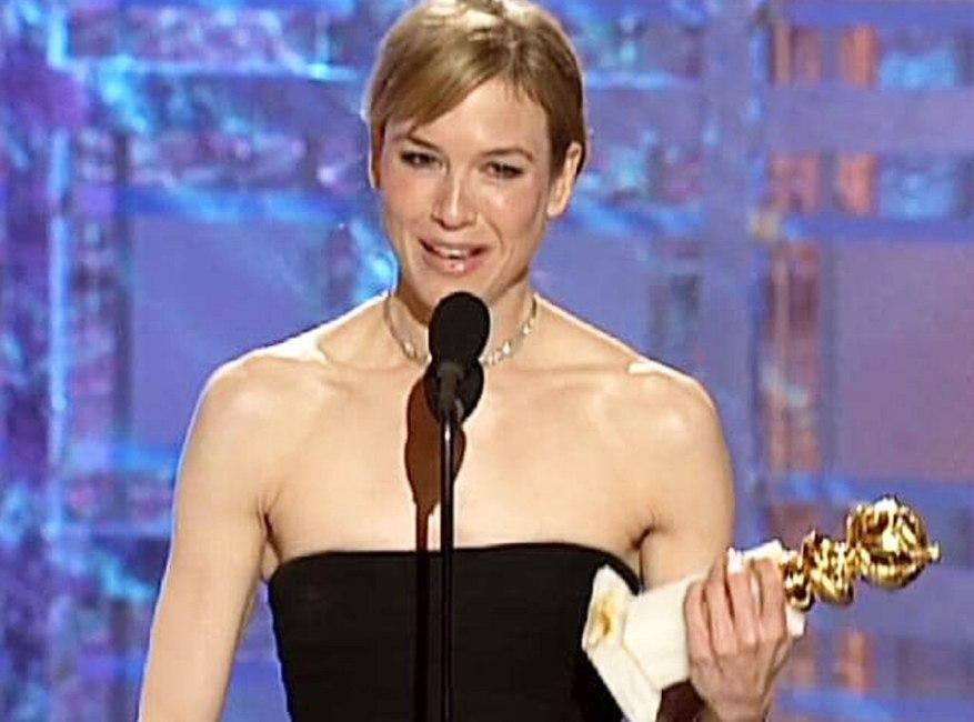 Renee Zellweger, Golden Globes, 2001