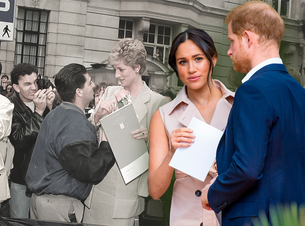 What Actually Happened to Princess Diana, Why It's Not Happening to Meghan Markle