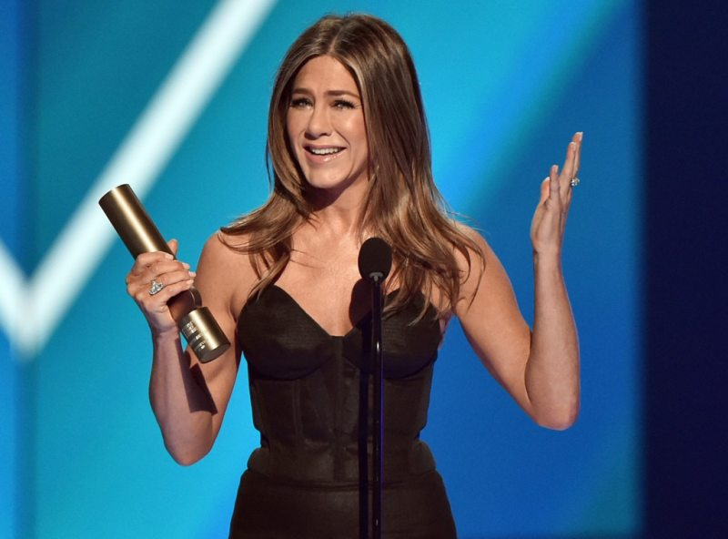 Jennifer Aniston, 2019 people's Choice Awards, la Mascella Contagocce