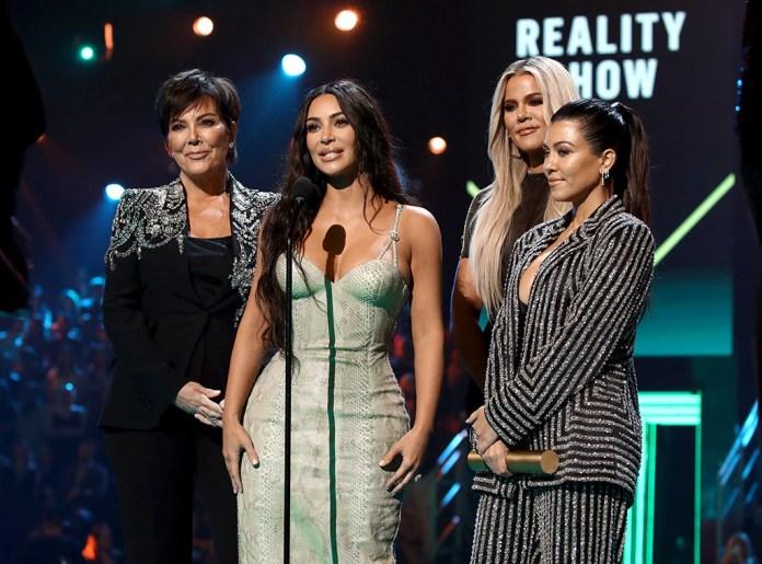 Kris Jenner, Kim Kardashian, Khloé Kardashian, Kourtney Kardashian, 2019 Peoples Choice Awards, 2019 PCAs, Winners