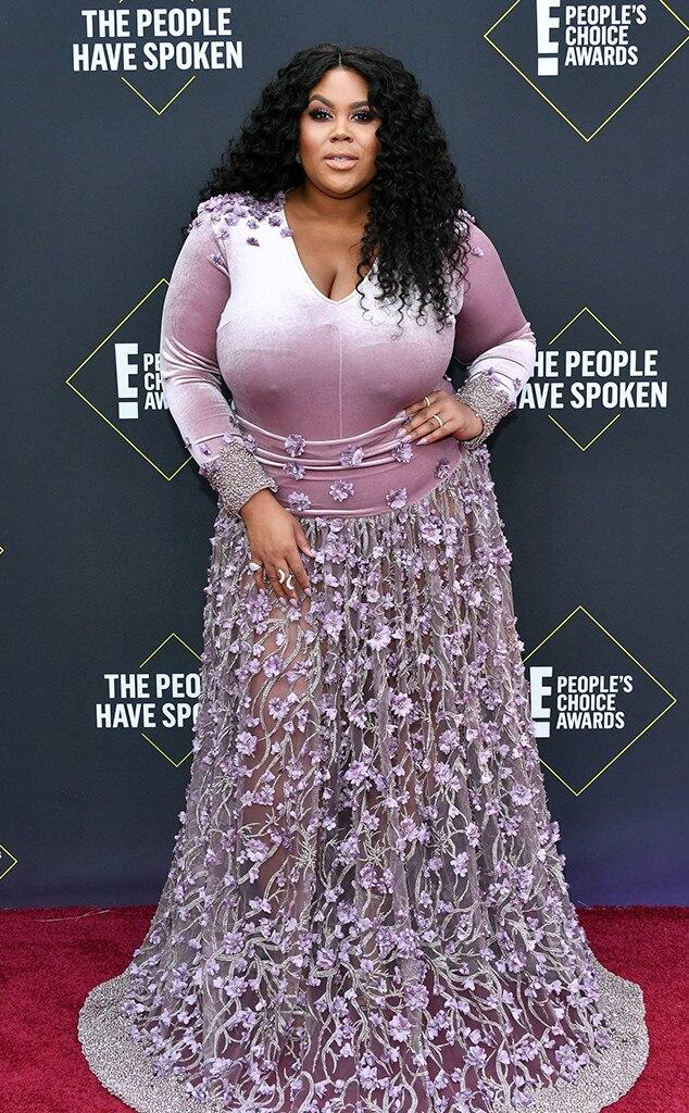 Nina Parker, 2019 E! People's Choice Awards, Moda Tappeto Rosso