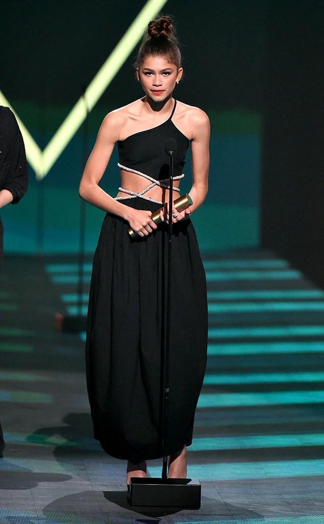 Zendaya 2019 Peoples Choice Awards, 2019 PCAs, Winners