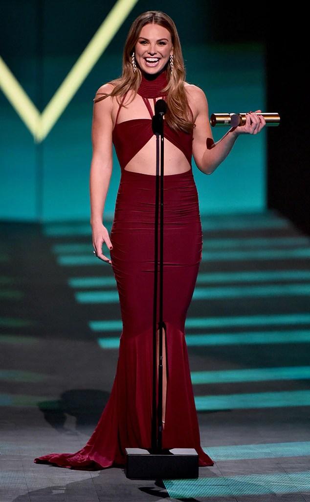 Hannah Brown 2019 People's Choice Awards, 2019 PCA's, Winners