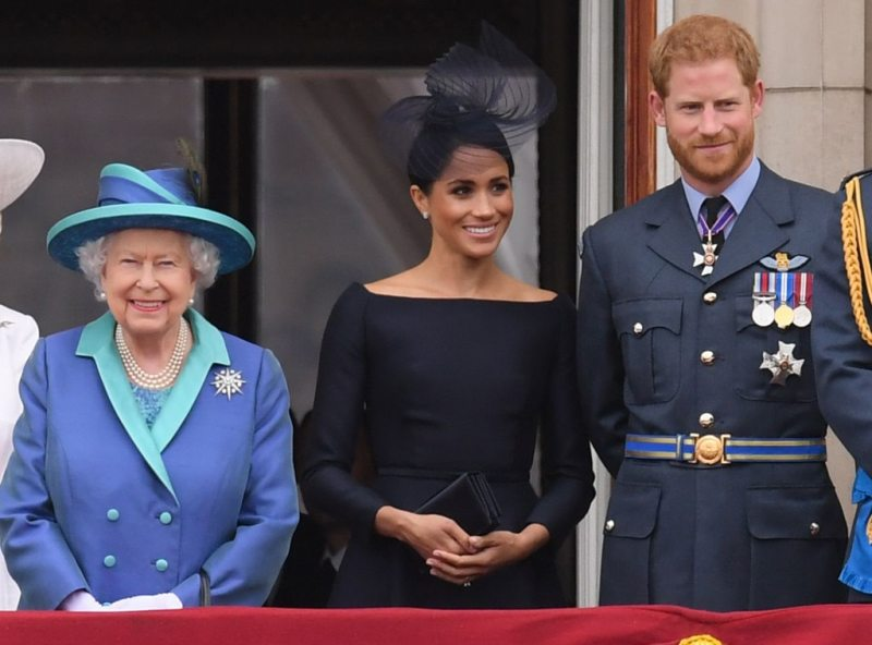 La Regina Elisabetta, Meghan Trattamenti, Il Principe Harry
