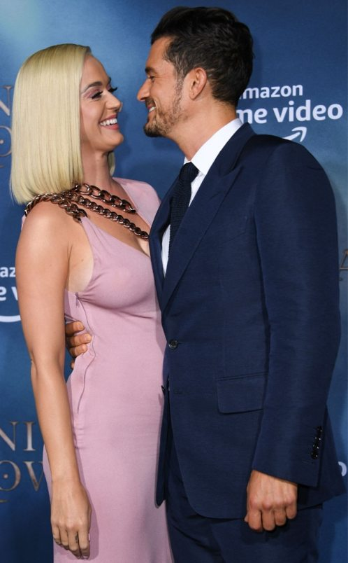 """Pregnant Katy Perry Says Orlando Bloom Keeps Her Evolving Into the """"Best Version"""" of Herself"""