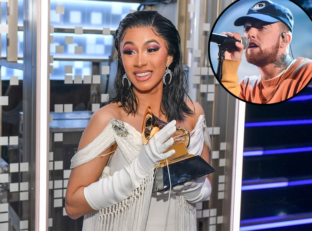 Image result for cardi b at the Grammy awards 2019
