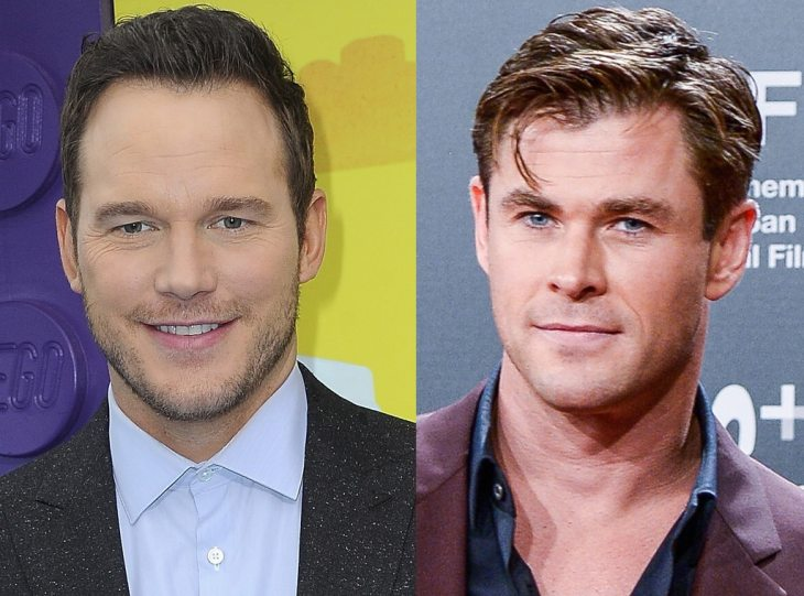 Chris Pratt, Chris Hemsworth