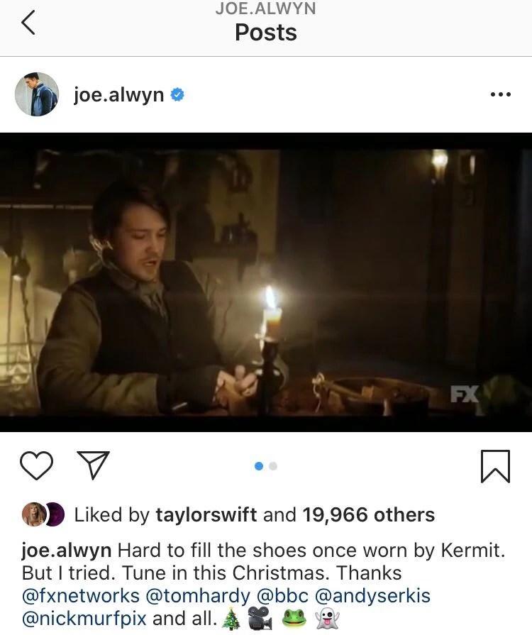 Taylor Swift, Joe Alwyn, Instagram