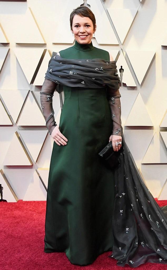 Olivia Coleman, 2019 Oscars, 2019 Academy Awards, Red Carpet Fashions