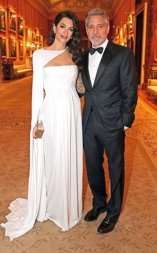 Amal Clooney, George Clooney, Prince's Trust Dinner