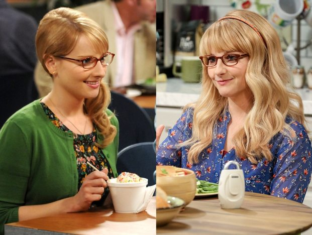 Melissa Rauch, The Big Bang Theory, Then and Now