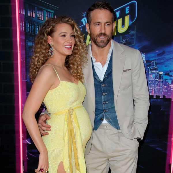 Ryan Reynolds Shares the First Photo of His and Blake Lively