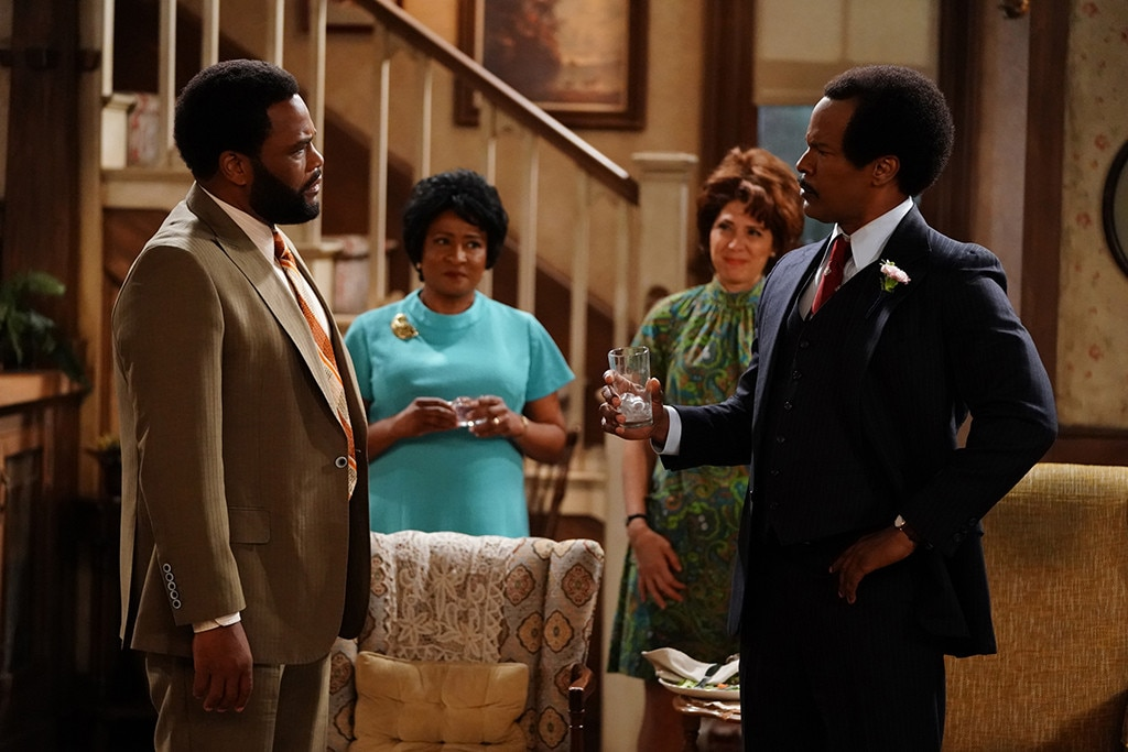 Jamie Foxx's Flubbed Live All in the Family Scene Was Perfect