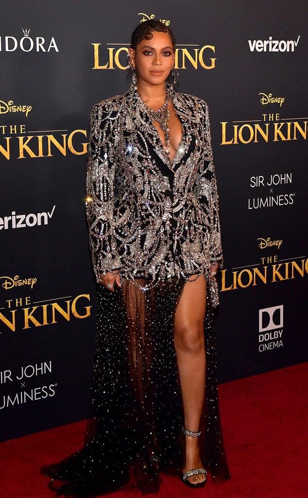 Beyonce, The Lion King Premiere, Red Carpet Fashion