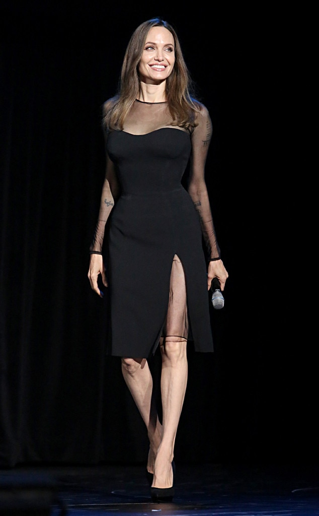 Angelina Jolie, D23 Expo 2019, Fashion Police Widget