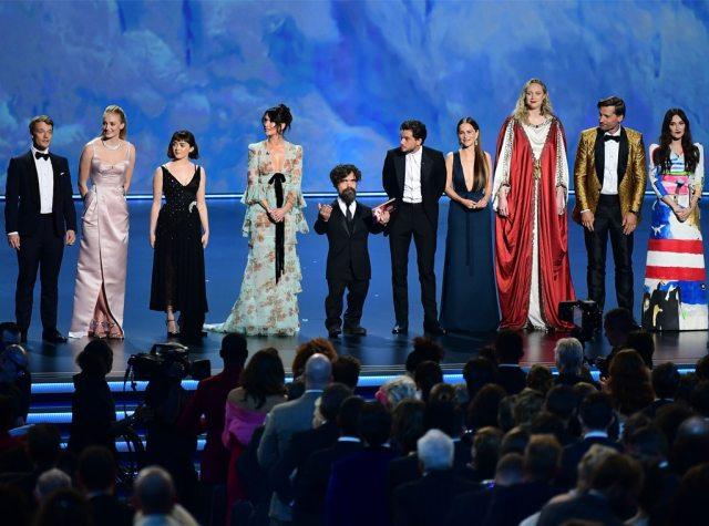 Image result for game of thrones 2019 emmy awards