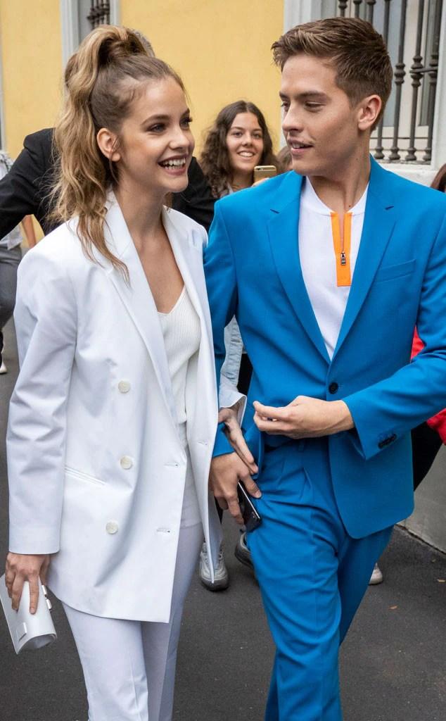 Barbara Palvin, Dylan Sprouse, Milan Fashion Week