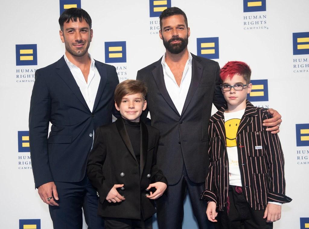 Ricky Martin, Jwan Yosef, Twins