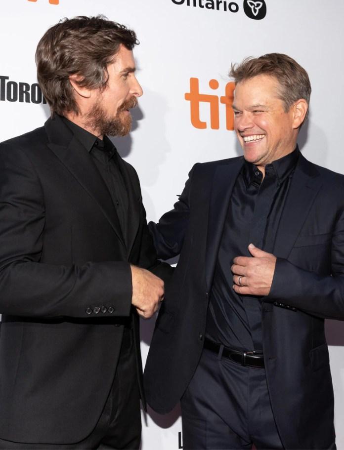Christian Bale, Matt Damon, Ford v Ferrari, Toronto Film Festival
