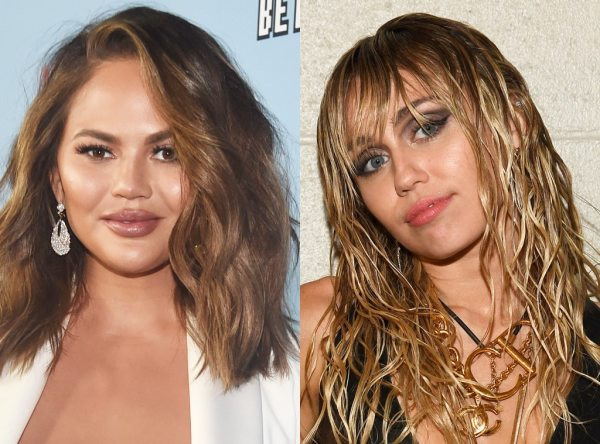Chrissy Teigen Is Taking a Cue From Miley Cyrus and Her Controversial Instagram Live