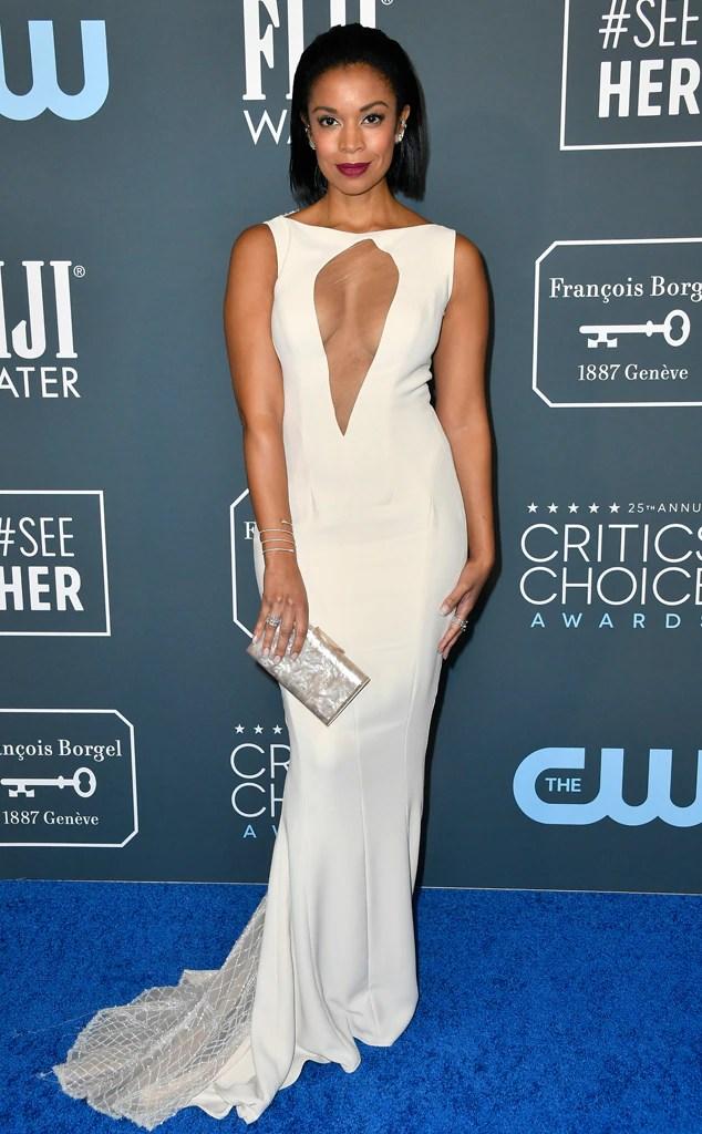 Susan Kelechi Watson, 2020 Critics Choice Awards, Red Carpet Fashion