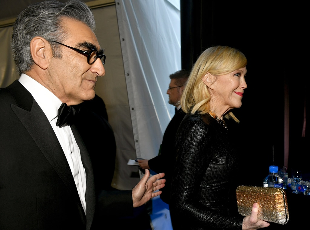 Eugene Levy, Catherine O'Hara, 2020 Critics Choice Awards, After Party