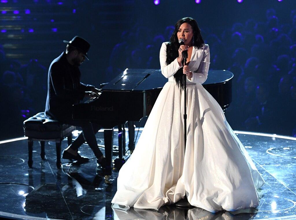 Demi Lovato, 2020 Grammys, Grammy Awards, Performance