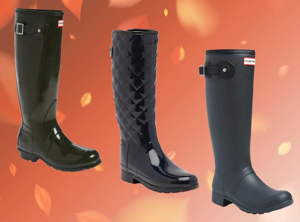hunter boots flash sale