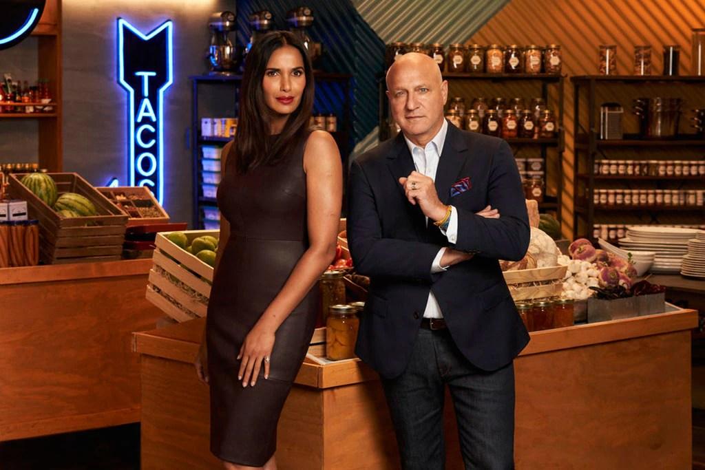 Top Chef All Stars L.A., Padma Lakshmi, Tom Cholicchio