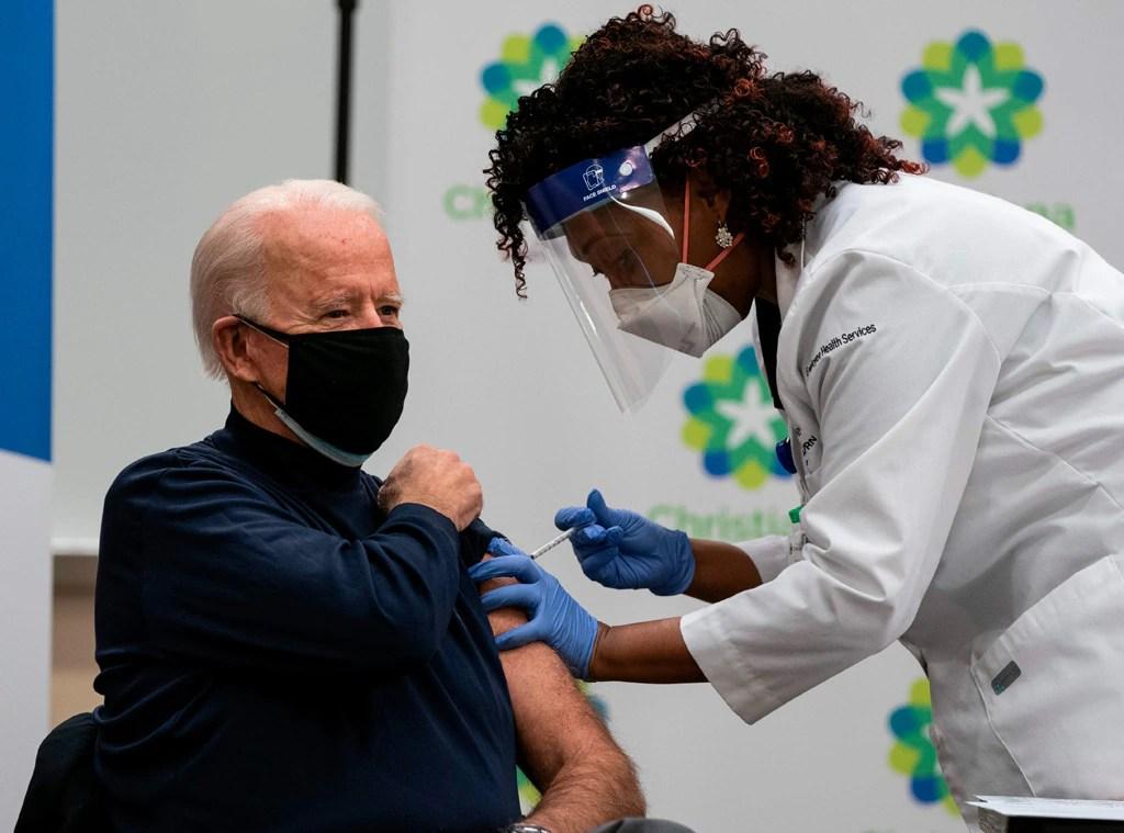 Joe Biden, Covid-19 vaccination