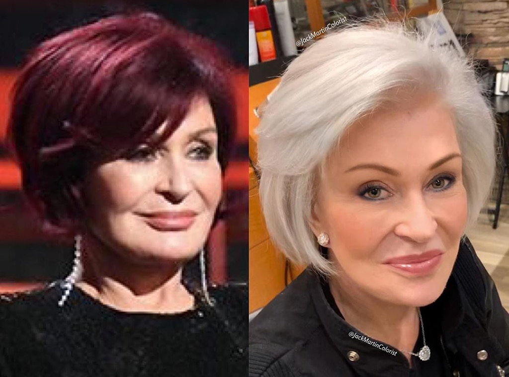 You Have To See Sharon Osbourne S Hair Transformation E Online Ca