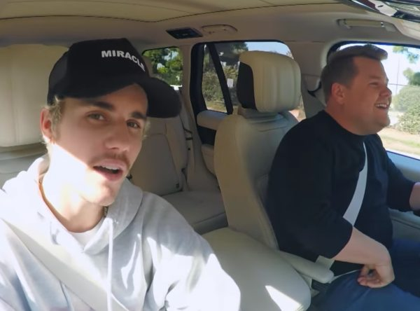 Watch Justin Bieber Explain That Tom Cruise Challenge and Sing Smelly Cat on Carpool Karaoke