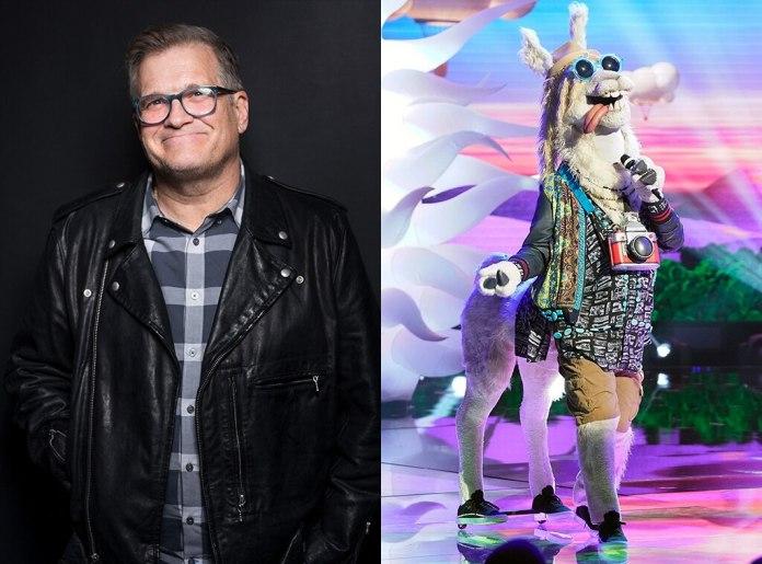Drew Carey, Llama, the masked singer