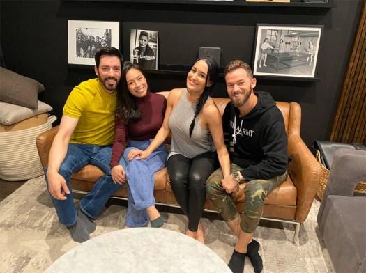 Nikki Bella, Artem Chigvintsev, Drew Scott