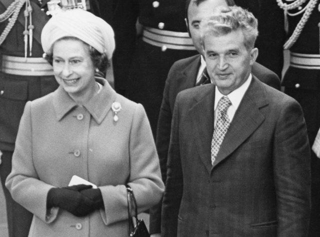 Queen Elizabeth II, Nicolae Ceausescu